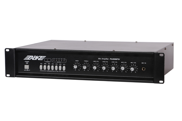 PA2006IV 6 Zones Mixing Amplifier(60W)