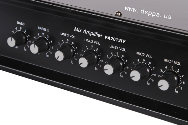 PA2012IV 6 Zones Mixing Amplifier(120W)