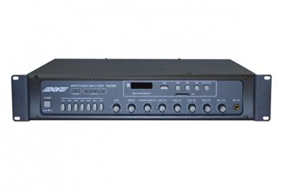 PA2106 60W  6 Zones Mixing Amplifier with SD/USB/FM