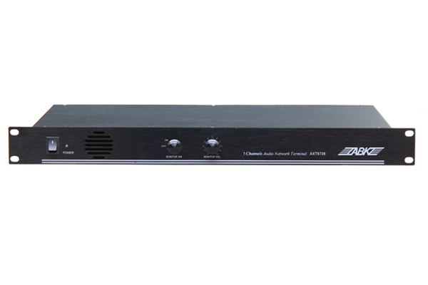 AXT8708 Single Channel Rack-Mounted Network Terminal