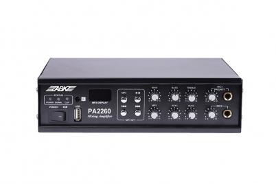 PA2260 60W MP3&USB Mini Mixing Amplifier