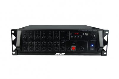 PA2825 250W 6 Zones Paging/USB/Bluetooth Mixing Amplifier