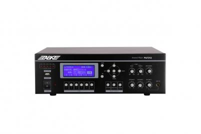 PA7212 120W 6 Zones All in One Amplifier with USB/Tuner/Timer/Paging